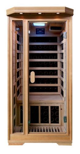 buwimate infrarot sauna hemlock. Black Bedroom Furniture Sets. Home Design Ideas